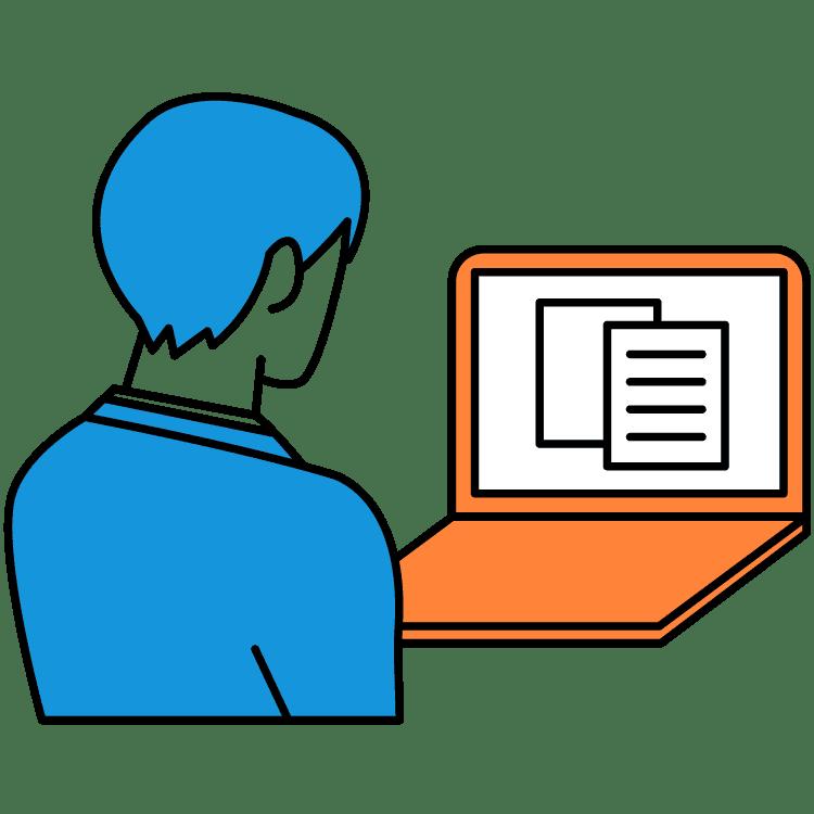 企業に推薦・書類選考